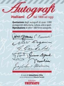 Catalogo autografi italiani